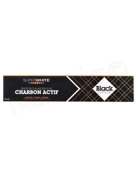 Superwhite Black Edition Dentifrice Blancheur au Charbon Actif. 75ml