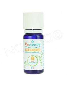 Puressentiel Huile Essentielle Bois de Rose d'Asie - Cinnamomum Camphora Linaloliferum. Flacon 10ml