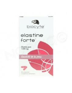 Biocyte Elastine Forte 1000mg. Boite 40 comprimés
