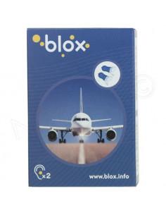 Blox Bouchon d'oreille avion. 1 paire