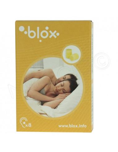 Blox Bouchon d'oreille cylindrique. 4 paires