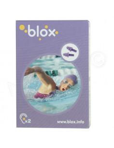Blox Bouchon d'oreille aquatique adulte. 1 paire