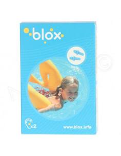Blox Bouchon d'oreille aquatique enfant. 1 paire