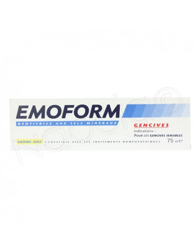 Emoform Gencives. Tube 75ml