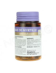 Arkogélules Baie de Myrtille - Confort digestif & Vision. 45 gélules