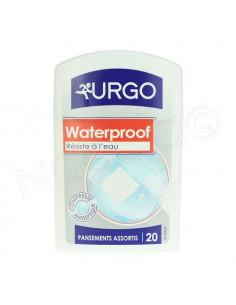 Urgo Waterproof. Pansements Assortis x20