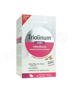Triolinum Fort Ménopause. 60 capsules - Cure 2 mois