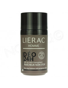 Lierac Homme Déo 24h Fraicheur Non-stop. Roll-on 50ml