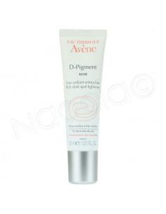 Avène D-Pigment Riche Soin Unifiant anti-Tâches. Tube 30ml