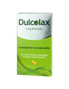 Dulcolax Constipation occasionnelle 30 comprimés enrobés gastro-résistants