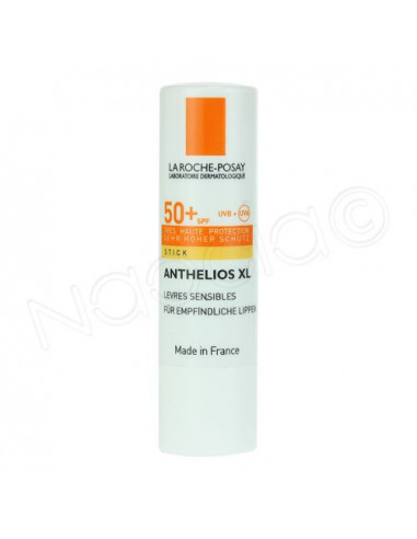 Anthelios XL SPF50+ Stick Lèvres sensibles. 3ml