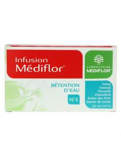 Médiflor Infusion Rétention d'eau N°4 Boite 24 sachets
