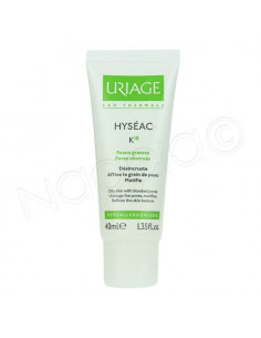 Uriage Hyséac K18 Soin Peaux grasses - Pores obstrués. Tube 40ml