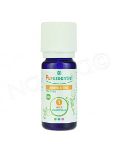 Puressentiel BIO Huile Essentielle Arbre à Thé Tea Tree - Melaleuca Alternifolia HEBBD. Flacon 10ml