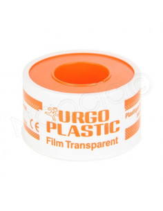 Urgo Plastic Film Transparent Hypoallergénique Microperforé 5m x 2