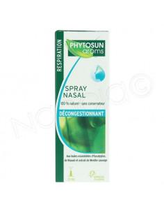 Phytosun Aroms Spray Nasal Décongestionnant. 20ml
