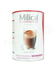 Milical Hyperprotéiné Milk-Shake Minceur Chocolat. 18 portions 30g - ACL 9671316