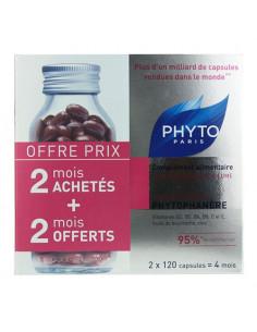 Phytophanère Cheveux et Ongles Complément alimentaire 2 X 120 capsules