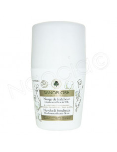 Sanoflore Déodorant Roll'On 24h Sans Concession. 50ml - ACL 9644093