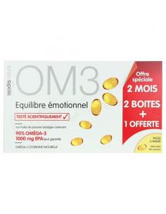 OM3 Equilibre Emotionnel. 2 boîtes + 1 offerte - ACL 4636835