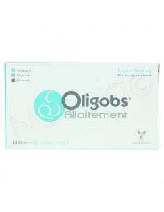 Oligobs Allaitement Complément Alimentaire. 30 comprimés + 30 capsules