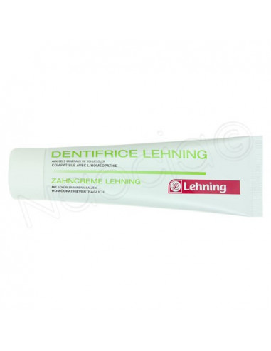 Lehning Dentifrice Tube 80g