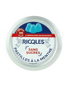 Ricqles Pastilles à la menthe sans sucres Boite 50g