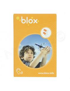 Blox Bouchon d'oreille avion Enfant. 1 paire