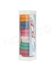 Finger Bob 6 Bandages Doigts couleurs assorties
