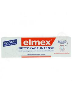Elmex Nettoyage Intense Blanches et Lisses Tube 50ml