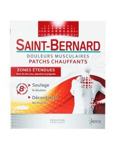 Saint-Bernard Patchs Chauffants Zones étendues. x2