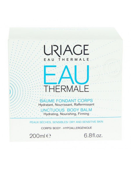 Uriage Eau Thermale baume fondant corps. Pot 200ml