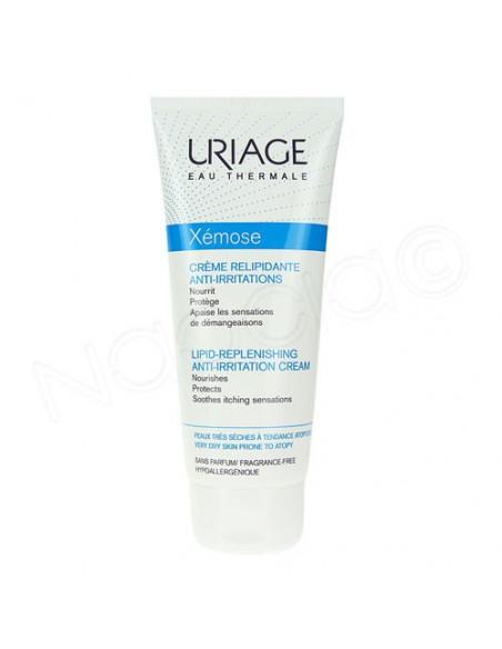 Uriage Xémose crème relipidante anti-irritations nouvelle formule 200ml