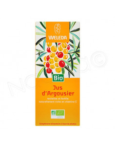 Weleda Jus d'Argousier Bio. 250ml - riche en vitamine C