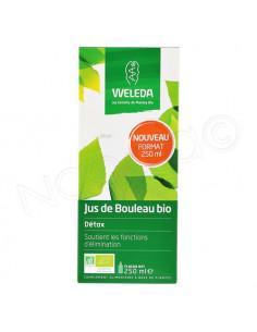 Weleda Jus de Bouleau Bio Détox. 250ml