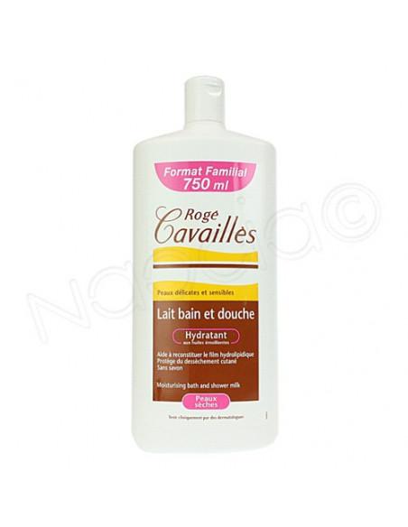 Rogé Cavailles Lait Bain Douche Hydratant. Format Familial 750ml - ACL 4894603