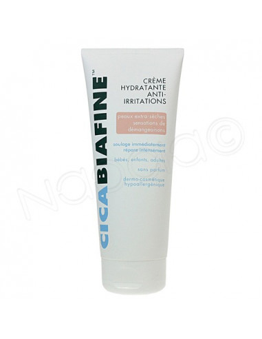 Cicabiafine Crème hydratant anti-irritations - Peaux extra sèches. Tube 200ml