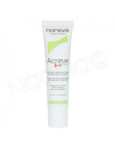 Noréva Actipur 3en1 Soin Anti-Imperfections Correcteur Intensif. Tube 30ml