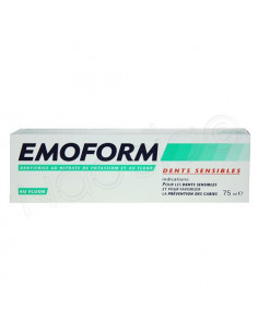 Emoform Dentifrice pour dents sensibles. Tube de 75ml