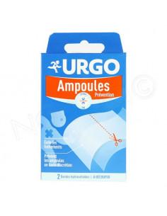 Urgo Ampoules Prévention x2 bandes hydrocolloïdes à découper