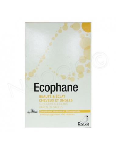 Ecophane Beauté & Eclat cheveux et ongles. Boite de 60 comprimés.