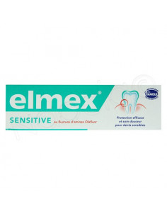 Elmex Sensitive Dentifrice pour dents sensibles. Tube de 50ml