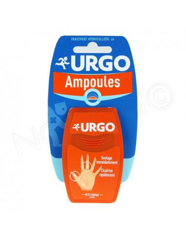 URGO Ampoules Pansements doigt et orteils. Petit format. Boite de 6