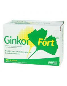 Ginkor Fort Circulation Veineuse Crise Hémorroïdaire. 60 gélules