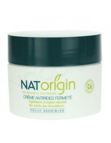 NatOrigin Crème Hydratante Détoxifiante Peaux Sensibles Flacon airless 50ml