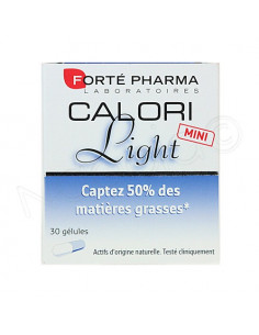 Forté Pharma Calori Light Mini. 30 gélules: 5 mini-blisters - ACL 9592137
