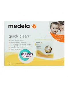 Medela Sachets stérilisation pour micro-ondes - Quick Clean. 5 sachets