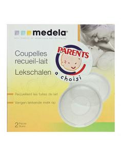 Medela Coupelles recueil-lait. 2 pièces