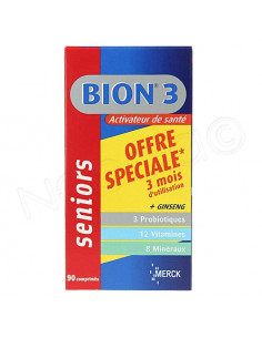 Bion 3 Seniors Activateur de Santé - Offre Spéciale 3 mois d'utilisation