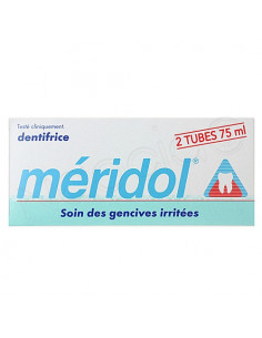 Méridol Dentifrice Gencives Irritées. Lot 2x75ml